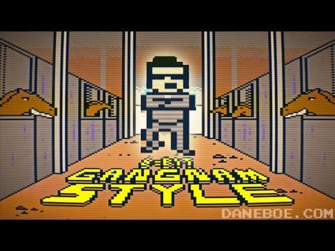 bits - What if Gangnam Style was an old school video game? It would probably look like this! T-SHIRTS: http://daneboe.spreadshirt.com FOLLOW ME: TWITTER: http://twi...