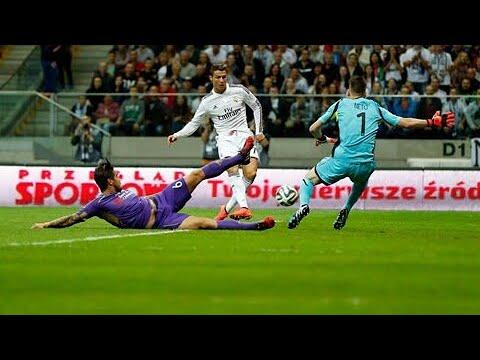 Real Madrid 2-1 Fiorentina - Ronaldo 33'