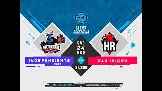 #LaLigaArgentina | 24.03.2018 Independiente de Santiago del Estero vs. San Isidro
