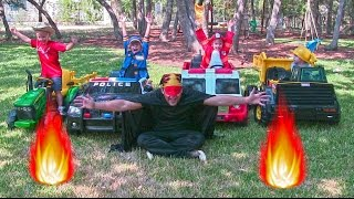 Video Little Heroes 10 - The Spark, The Police Car, The Fire Engine and The Dump Truck MP3, 3GP, MP4, WEBM, AVI, FLV Desember 2017