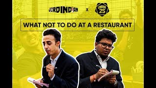 Video What Not To Do At A Restaurant  | Jordindian | Under 25 MP3, 3GP, MP4, WEBM, AVI, FLV Januari 2019