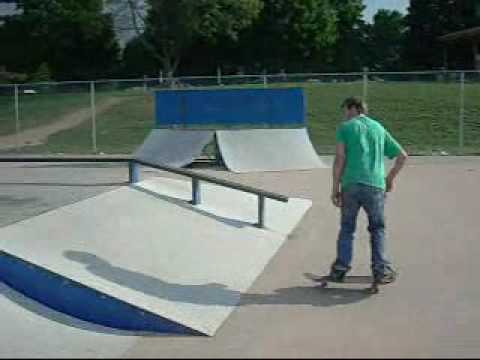 Matt Bergeron - Coldwater, Mi.  Skatepark 2010