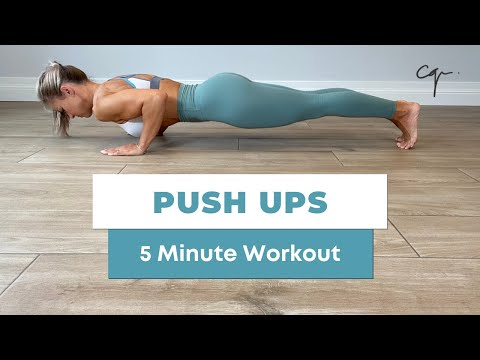 5 Minute Push Ups Workout at Home