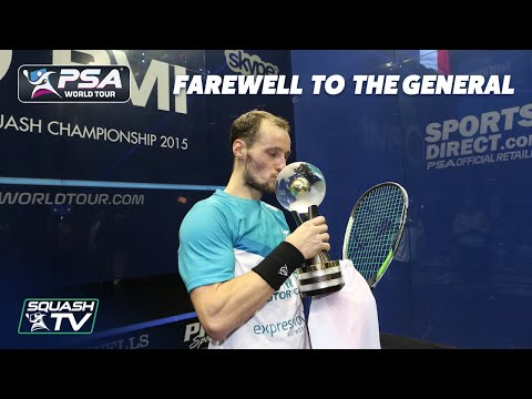Squash: Farewell to The General - Gaultier's Best Moments
