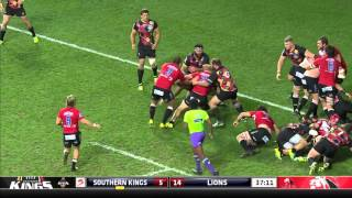 Southern Kings v Lions Rd.9 2016 | Super Rugby Video Highlights