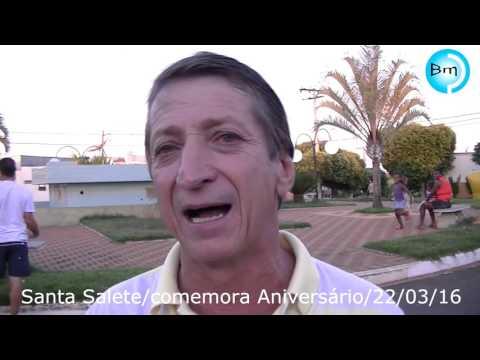 Neste sábado tem show em Santa Salete fechando a comemoração do Aniversário da Cidade - AGENDA AGITO