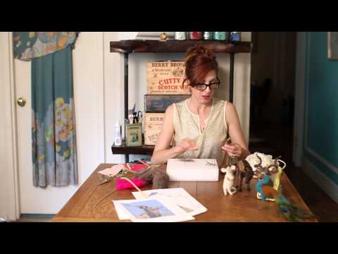 How to make animals from Wool Roving