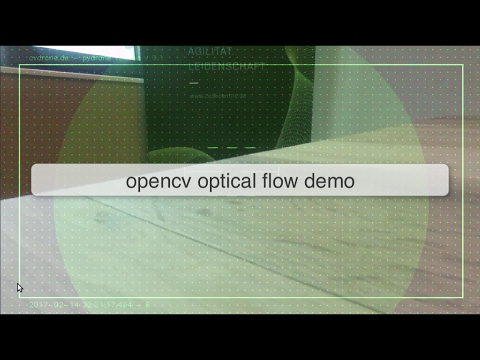 opencv optical flow demo