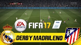 FIFA 17 FULL GAMEPLAY - REAL MADRID VS ATLETICO MADRID - EL DERBI MADRILENO - Have fun! Make sure to SUBSCRIBE + LIKE the video!! :)► Subscribe for free: http://goo.gl/yJLpNu► FIFA 17 PLAYLIST: http://goo.gl/rKm1srDEUTSCHER KANAL (PMTV): https://goo.gl/OH4Oz6► My Sunday League Football: http://goo.gl/jT5k8C► Football Videos: http://goo.gl/M5aSc2▼Social Media▼✖ Facebook: ✖ Instagram (Patrick): http://www.patrickmetitv.de/instapatrick✖ Snapchat Patrick: http://www.patrickmetitv.de/snapmeti✖ Twitter (Patrick): http://www.patrickmetitv.de/twitterpatrick✖ Twitch: http://www.twitch.tv/patrickmetitv✔ FIFA 17 bestellen (alle Plattformen): http://goo.gl/y6UyF0✔ PES 2017 bestellen (alle Plattformen): http://goo.gl/kzREKu✔ Bei Bedarf: http://goo.gl/ZJODU5✔ Patricks Haarwachs: http://goo.gl/OH0zGa✔ Perfekte Aufnahmen: http://goo.gl/Kh6n9Z✔ Gute Tonlage: http://goo.gl/YZqiUrLinks, an denen ein ''✔'' steht, sind sogenannte Affiliate-Links. Kommt über diesen Link ein Einkauf zustande, werden wir mit einer Provision beteiligt. Für euch entstehen dabei selbstverständlich keine Mehrkosten. Wo ihr die Produkte kauft, bleibt natürlich euch überlassen. :)Danke für eure Unterstützung!!! Alle Vorteile zur Erstellung dieses Videos wurden von EA im Rahmen des 'FIFA 17 Capture Crunch' zur Verfügung gestellt. !!
