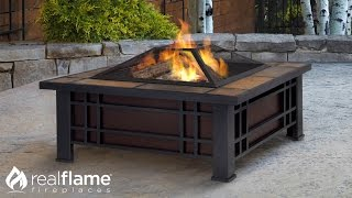Morrison Fire Pit from Real Flame