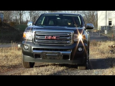 2015 GMC Canyon SLT Crew Cab Video Review