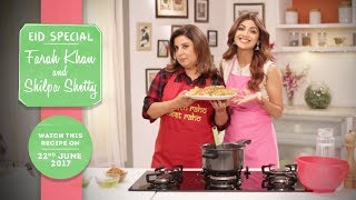 Cooking with friends is so much fun and for my Eid Special, I have an amazing friend to help me out! So don't forget to tune in!Here is the link for all the fitness freaks out there - http://bit.ly/ShilpaShettyKundraDon't forget to Like & Share for more fitness videos!!!Like us on Facebook - https://www.facebook.com/TheShilpaShetty/Follow us on Twitter - https://twitter.com/TheShilpaShettyFollow us on Instagram - https://www.instagram.com/theshilpashetty/