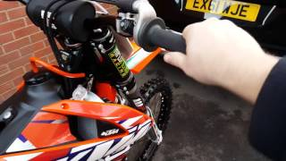 5. 2016 KTM 250 SX-F Battery issues.