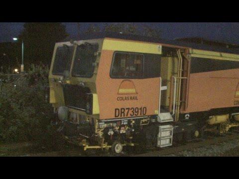 Colas Rail Tamper DR73910 'Jupiter' & DR73909 'Saturn' at...