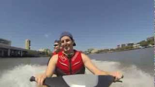 2. Brisbane River - Seadoo GTI SE 155  Jetski 15 September 2013