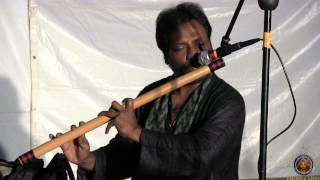 2012 Atlanta Sri Krsna Janmashtami Festival. Mr. G.S.Rajan Plays Flute. Mr. Hussein-Mridanga
