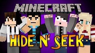 Minecraft Mini-Game: Hide n' Seek - BLOCKS FIGHT BACK w/ Grapeapplesauce, CreepingOnChu and Vasehh