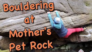 Bouldering at Mother's Pet Rock - The Climbing Nomads - Vlog 37 by The Climbing Nomads