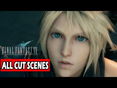 Final Fantasy 7 REMAKE All Cutscenes Full Movie  2020