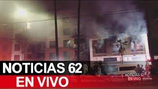 Evacuaciones en un edificio en Long Beach. – Noticias 62. - Thumbnail