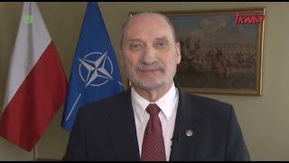 Macierewicz do Berczyńskiego: Dziękuję Wacku w imieniu służby… ty wskazałeś na możliwą eksplozję w samolocie.