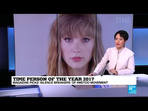 "Time Person of the Year 2017: Magazine picks ""silence breakers"" of #MeToo movement"