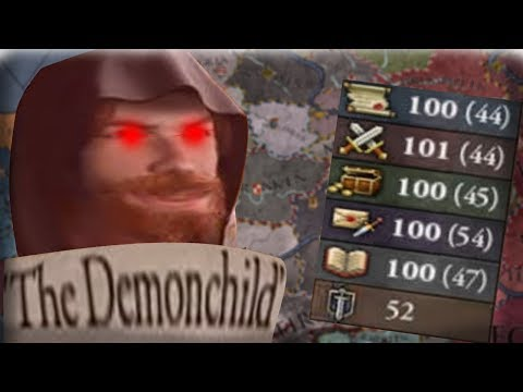 THE DEMON CHILD IS HERE! CHILD OF SATAN CREATES THE SITH EMPIRE! - CK2 Holy Fury