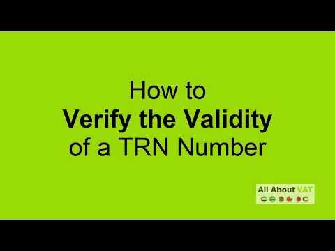TRN Number