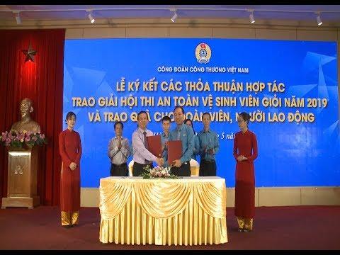 Công đoàn Công Thương Việt Nam tổ chức Hội thi An toàn vệ sinh viên giỏi năm 2019