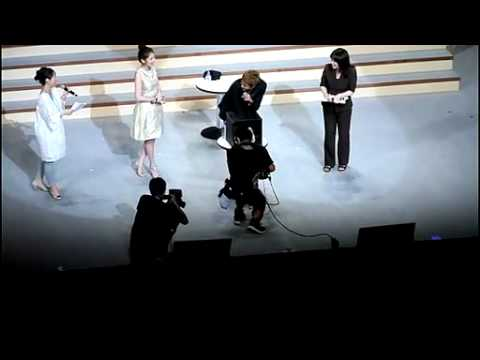 [110802-fancam] Kim Hyun Joong – Jung So Min  PK Japan