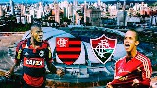 Gols e Melhores Momentos de Flamengo x Fluminense pela 11 rodada do Campeonato Brasileiro Série A 2016, Simulação no...