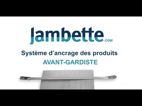 Système d'ancrage des produits Jambette