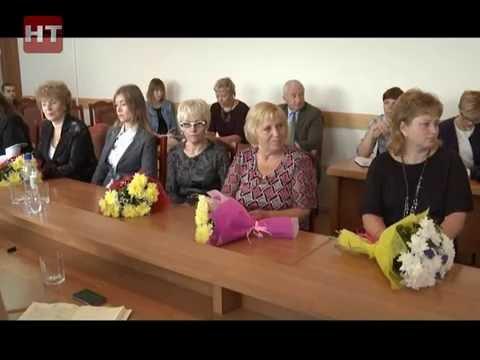 В мэрии прошла пресс-конференция лучших учителей Великого Новгорода