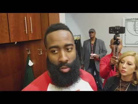 James Harden after Rockets gut out win over Heat