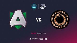 Alliance vs Chaos Esports Club1 , ESL One Katowice 2019, bo2, game 2, [Lum1Sit]