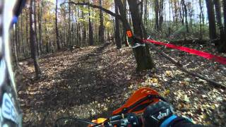 10. 2012 KTM 300XCW demo ride