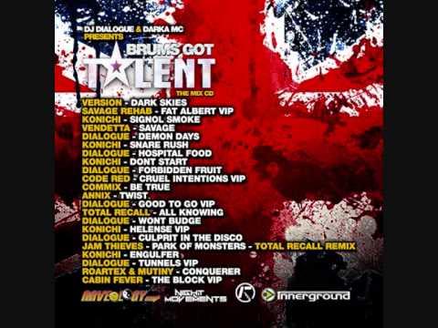 DJ Dialogue & Darka MC Present - Brums Got Talent Mix CD Vol 1