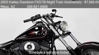 8. 2003 Harley-Davidson FXSTBI Night Train Anniversary  for sal