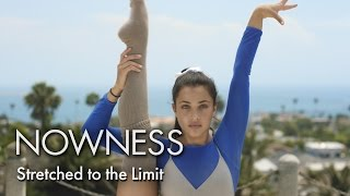 Bending beyond 180 degrees with Team USA rhythmic gymnasts