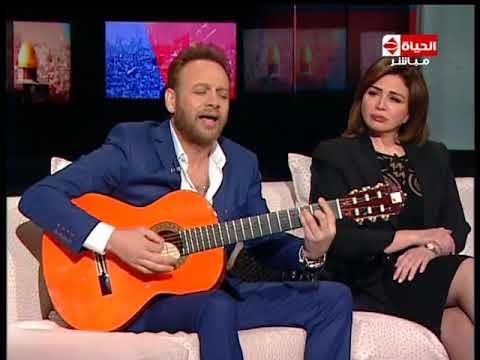 """مصطفى قمر يغني للقدس في """"يوم الإعلام العربي"""""""