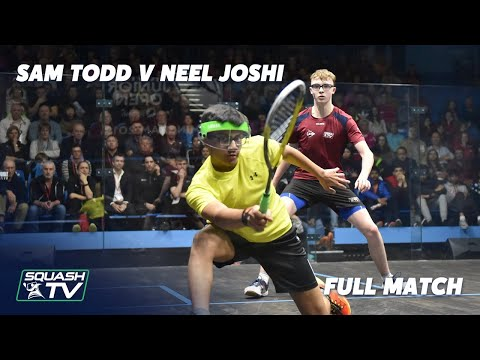 Squash: Todd v Joshi - British Junior Open Rewind - 2018 U15s Final