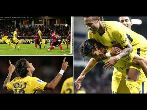 Neymar jr | All Magic Skills | Goals and Assists for PSG | 2017-2018 April। Full HD