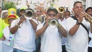 Arrancan las tradicionales Fiestas de la Calle San Sebastián en el Viejo San Juan