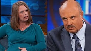 """""""I'm 3 Years Pregnant"""" Woman Claims on Dr Phil - React Couch"""