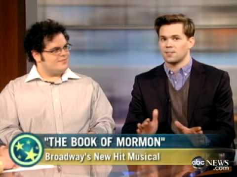 Josh Gad - Interview with Andrew Rannells and Josh gad from The Book of Mormon.