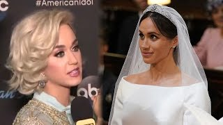 Video Katy Perry SLAMS Meghan Markle's Wedding Dress MP3, 3GP, MP4, WEBM, AVI, FLV Mei 2018
