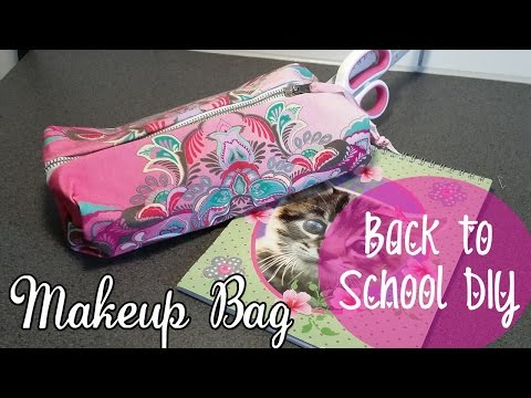 ♥ DIY Back To School ♥  MAKE-UP Tasje of Etui Zonder te Naaien! ♥