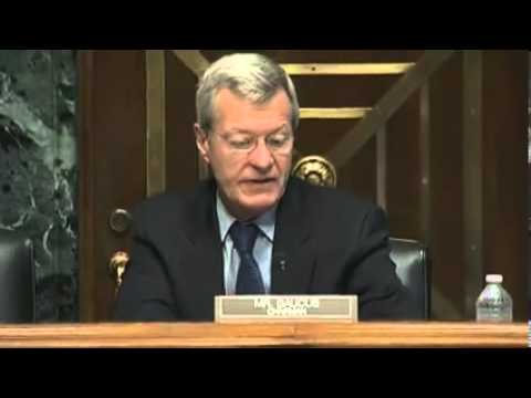 United States Senate Committee on Finance – Hearing on the IRS  05212013