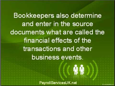 Bookkeeping Services In Kent – The Bookkeepers Role