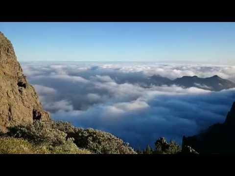 La Caldera de Tirajana y el mar de nubes Gran Canaria